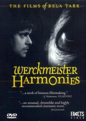 """Afiche cinematográfico del filme """"Las armonías Werckmeister"""" de Béla Tarr"""