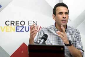 Henrique Capriles  en una imagen de archivo.