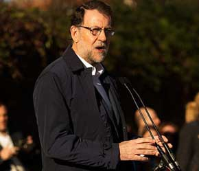 Mariano Rajoy presidente del gobierno en funciones