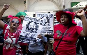 Presidente de Sud�frica deber� hacer frente a 783 cargos por corrupci�n