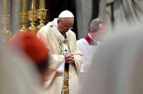 El papa pide castigar