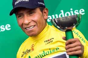 Nairo Quintana, campe�n en el Tour de Romand�a