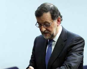 Presidente del gobierno en funciones, Mariano Rajoy Brey