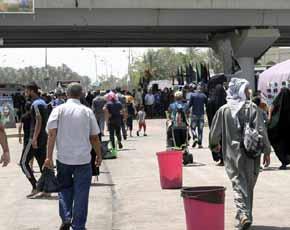 Suicida detona carro bomba contra grupo de peregrinos shi�es en Irak