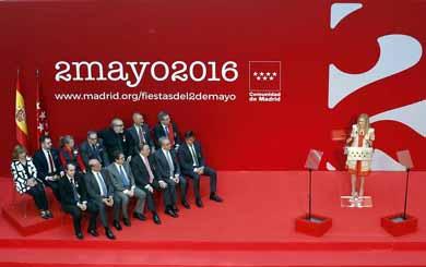 Cifuentes reivindica el esp�ritu del 2 de mayo para hacer frente a los retos de Espa�a