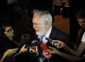 Miguel Arias Ca�ete, comisario europeo de Medio Ambiente y exministro de Agricultura del Partido Popular