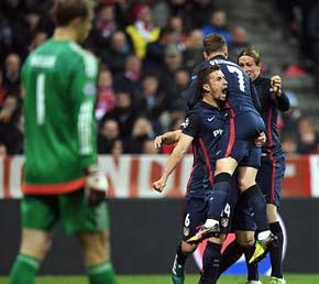 El Atl�tico sufri�, crey� y tumb� al Bayern para meterse en la final de la Champions