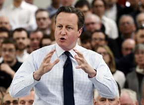 David Cameron, Primer Ministro ingl�s