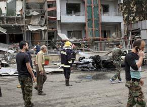 Cohetes de rebeldes sirios dejan 19 muertos en hospital de Aleppo