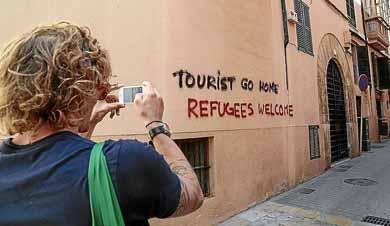 Las masas y el turismo