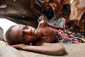 El hambre persiste en Etiop�a pese al fin de la sequ�a