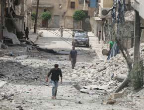 Aleppo es actualmente escenario de los enfrentamientos m�s enconados en la guerra civil siria.