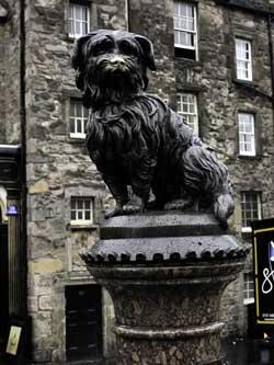 El Cementerio de Greyfriars en Edimburgo
