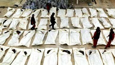 Al menos 28 muertos deja ataque a�reo a campamento de desplazados en Siria