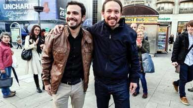 Podemos cierra un preacuerdo con IU para dar el sorpasso al PSOE