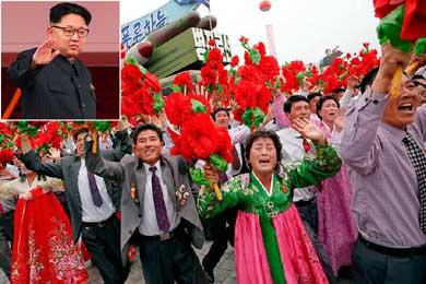 Corea del Norte: todos marchando al grito de