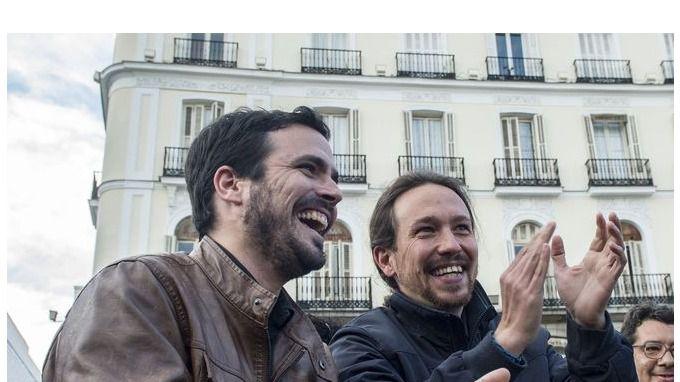 Unidos Podemos, nombre de la coalición Podemos-IU para el 26-J
