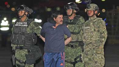 México concede la extradición del Chapo a EEUU