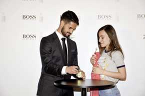 Isco Alarcón ha sido el elegido por Hugo Boss para ser imagen de su nuevo perfume.