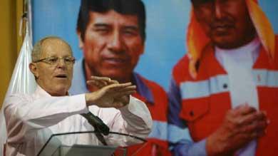 Mínima diferencia de votos definirá al ganador en Perú