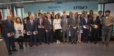Entrega de los Premios de FITUR al sector turístico