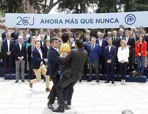 El espont�neo que ha irrumpido en el acto de Rajoy y le ha gritado: