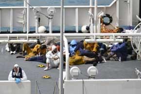 Número de fallecidos en el Mediterráneo se redujo 24% en 2016
