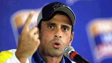 Capriles: Cuando se tiene apoyo del pueblo no se le teme a un Revocatorio