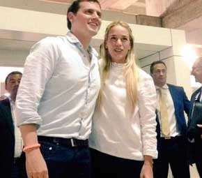 Rivera afirma que no le han permitido ver a los opositores venezolanos Ledezma y Ceballos, en arresto domiciliario MADRID   EUROPA PRESS