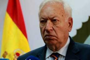 Jos� Manuel Garc�a-Margallo, ministro de Exteriores de Espa�a