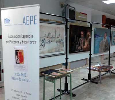La exposición itinerante CerVartes, en su ruta quijotesca llega a Puertollano