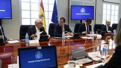 Rajoy preside hoy viernes el Consejo de Seguridad Nacional que abordar� la situaci�n de los espa�oles en Venezuela MADRID | EUROPA PRESS