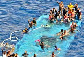 15 inmigrantes mueren en un naufragio en el Canal de Sicilia