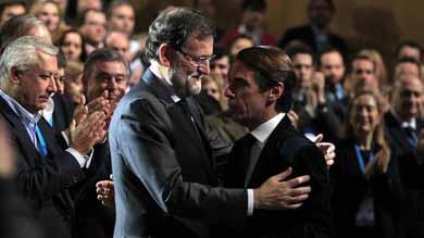 Aznar deja fuera a Rajoy de los cursos de verano de FAES tras trece a�os