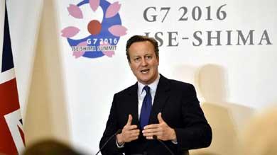 David Cameron, Premier brit�nico