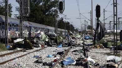 ONU critica la situaci�n en algunos campos de refugiados en Grecia