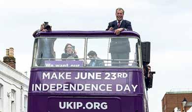 Las dos caras de un referendo histórico en el Reino Unido