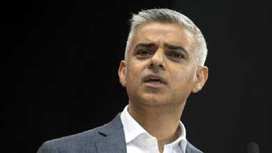 El alcalde de Londres, el laborista Sadiq Khan�: