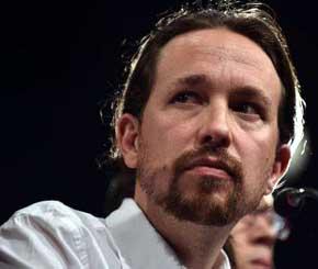Pablo Iglesias, l�der de Podemos