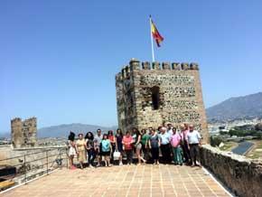 Más de 3.000 mayores participan en el programa 'Conociendo la provincia' de la Diputación de Málaga hasta el mes de junio