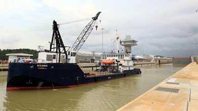 Panam� recibe oficialmente las obras de ampliaci�n de su canal