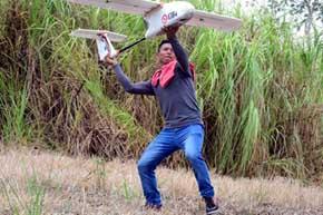 Los drones detectar�n la deforestaci�n y degradaci�n de los bosques a baja altura