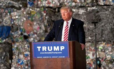 Donald Trump, candidato republicano a la Casa Blanca.