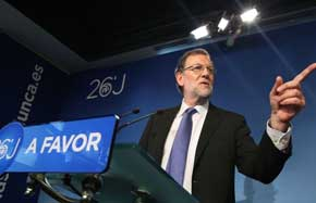 Rajoy avisa de que