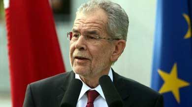 Alexander Van der Bellen, candidato a la presidencia de Austria.