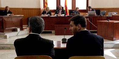Califican de irresponsable al club de fútbol Barcelona por el apoyo a Messi a raíz de su condena por defraudar a Hacienda