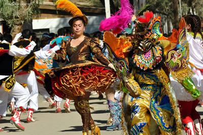 Fiesta de la Tirana en Tarapacá, Chile