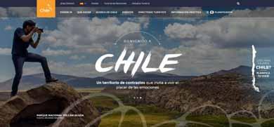 Chile.travel: la mejor website de destinos de Latinoamérica