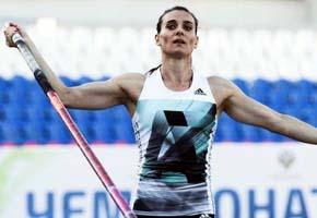 Yelena Isinbayeva, doble campeona ol�mpica de Rusia que pretend�a participar en los Juegos Ol�mpicos R�o 2016.