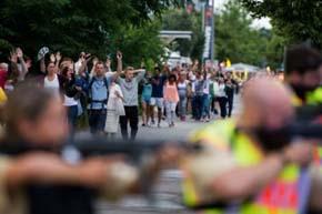 Nueve muertos en tiroteo en M�nich, el autor se suicida